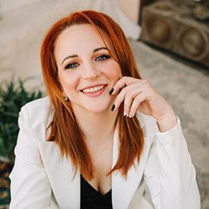 Editor-in-chief Margaryta Kovalenko