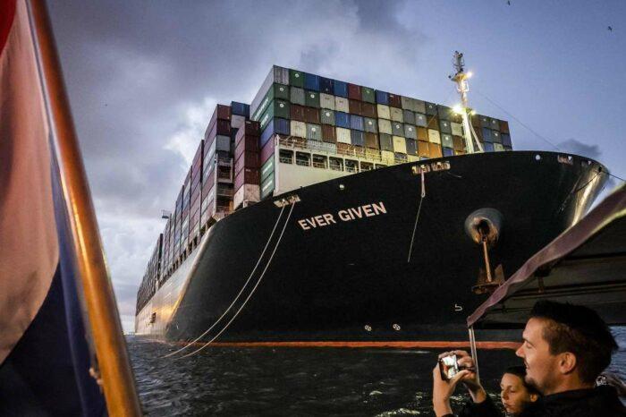 Ever Given успішно пройшов Суецький канал